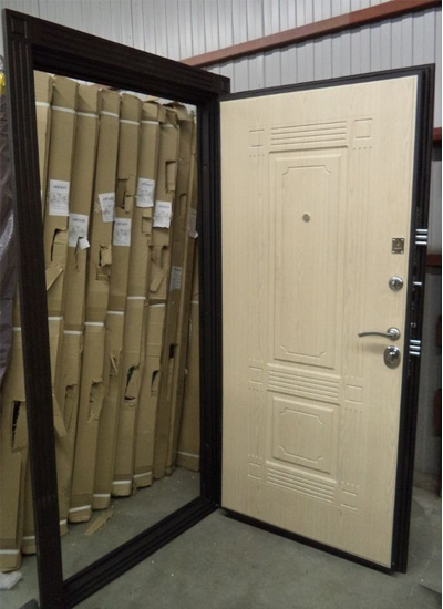 стальные двери де люкс