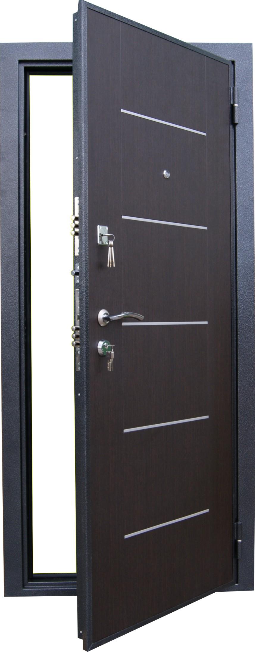 торцевая металлическая дверь