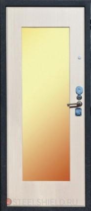 двери входные металлические со зеркалом внутрь